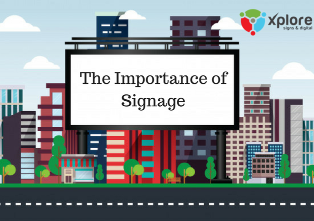 The Importance of Signage